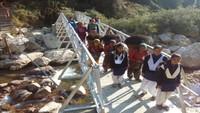 उत्तरकाशी के बागी गांव में अमर उजाला फाउंडेशन ने बांधा 'पुल'