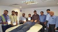कानपुर केमेगा मॉल में 18 लोगों ने किया महादान
