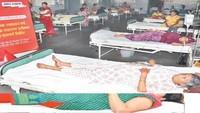 रक्तदान और नि:शुल्क स्वास्थ्य परीक्षण मेला