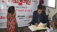 निःशुल्क कैंसर जांच शिविर में 96 रोगियों ने कराया परीक्षण, छः को चुना गया ऑपरेशन के लिए