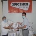 अलीगढ़ और मुरादाबाद प्रशासन को सौंपी गई 480 पीपीई किट्स