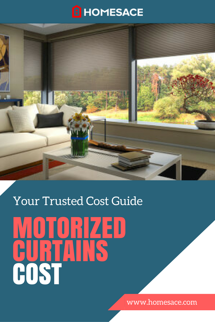 Cost To Install Motorized Curtains Estimates Prices