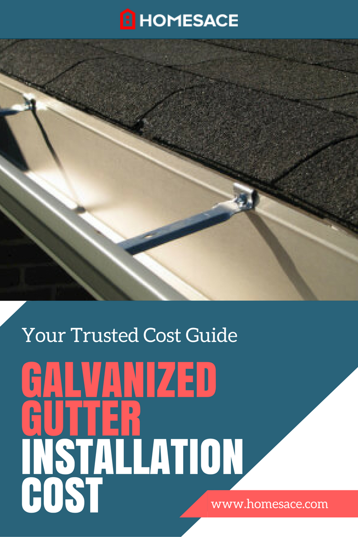 Cost To Install Galvanized Gutters Estimates Prices