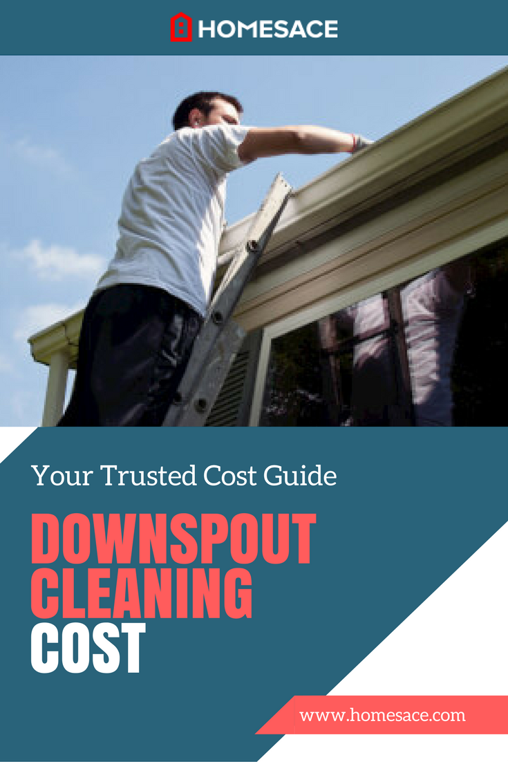 Downspout Cleaning Cost