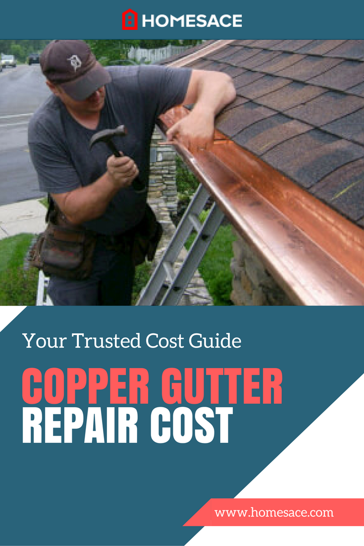 Copper Gutter Repair Cost