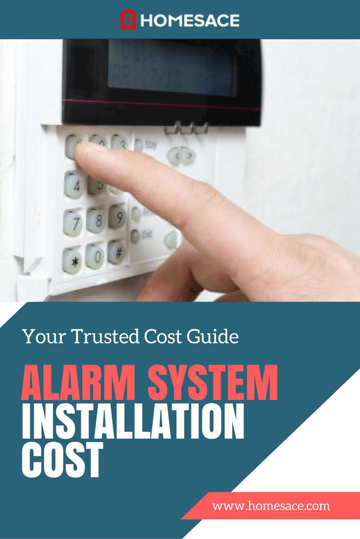 Alarm System Installation Cost