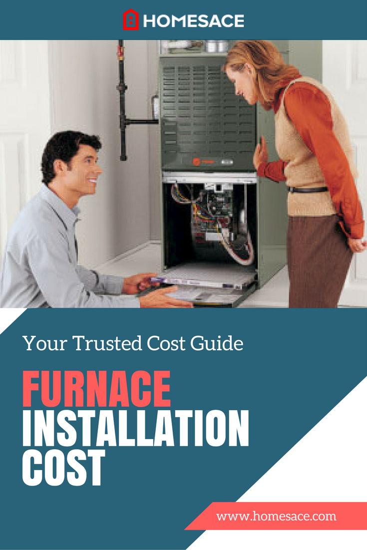 Average cost of new furnace installed - Furnace Installation Cost