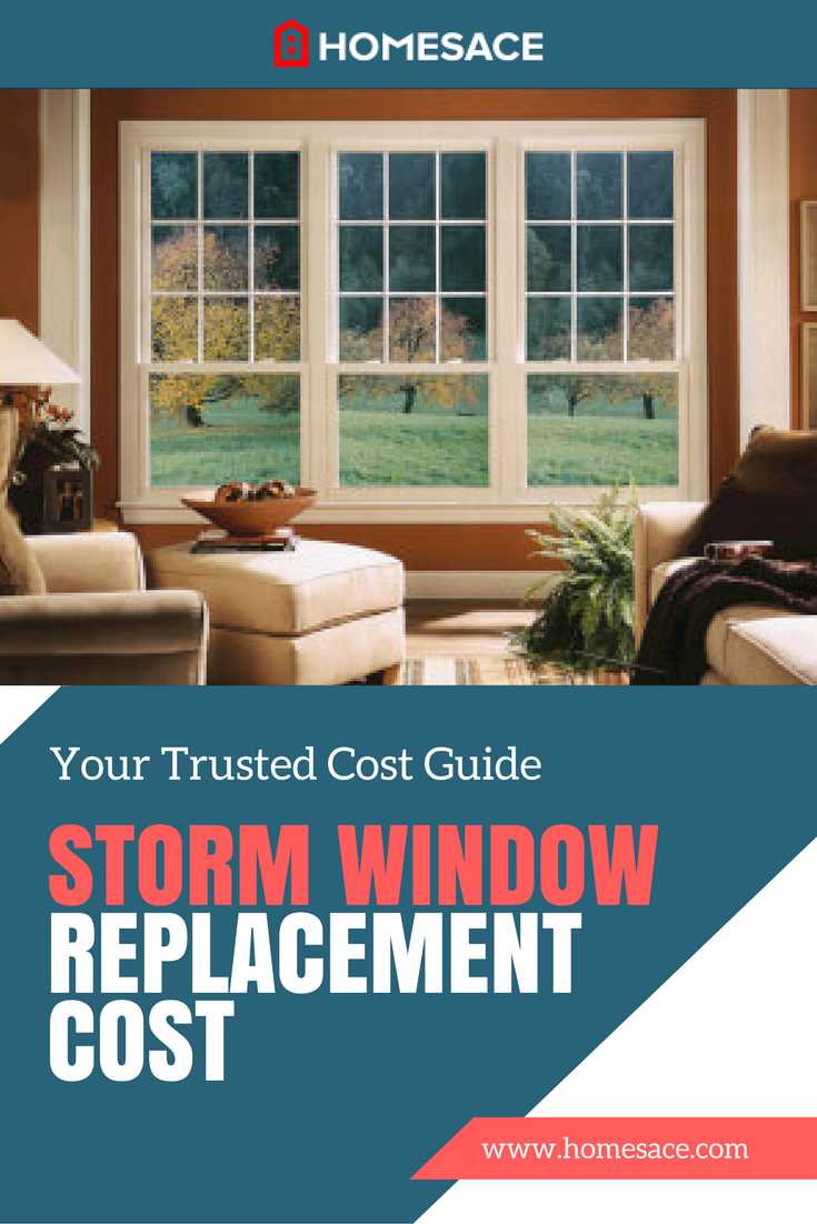 Storm Window Replacement Cost