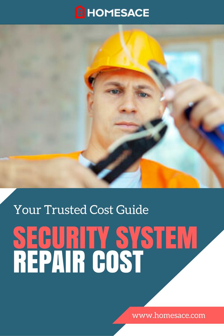 Security System Repair Cost