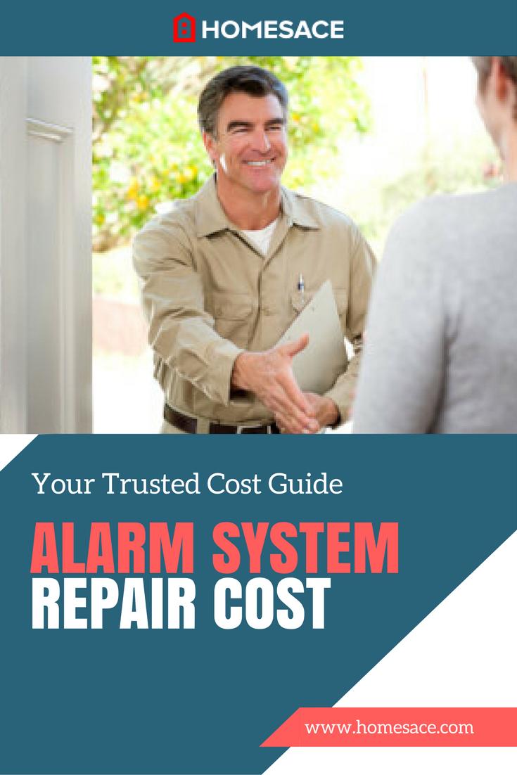 Alarm System Repair Cost