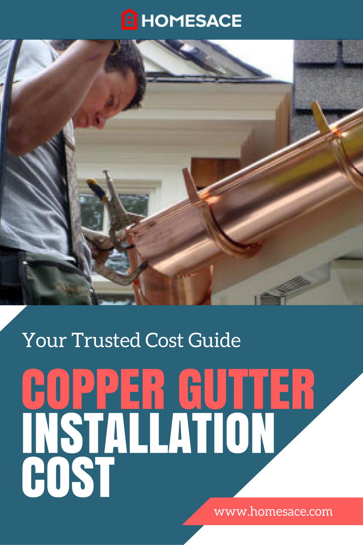 Cost To Install Copper Gutter Estimates Prices