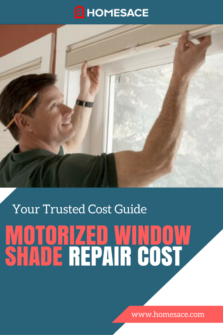 Motorized Window Shade Repair Cost