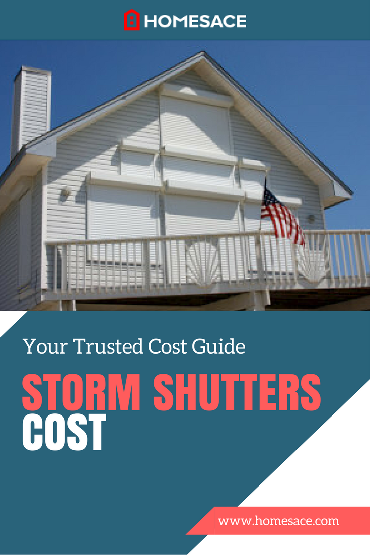 Storm Shutters Cost