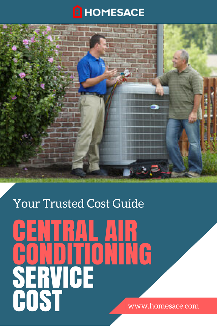 Central Air Conditioning Service Cost