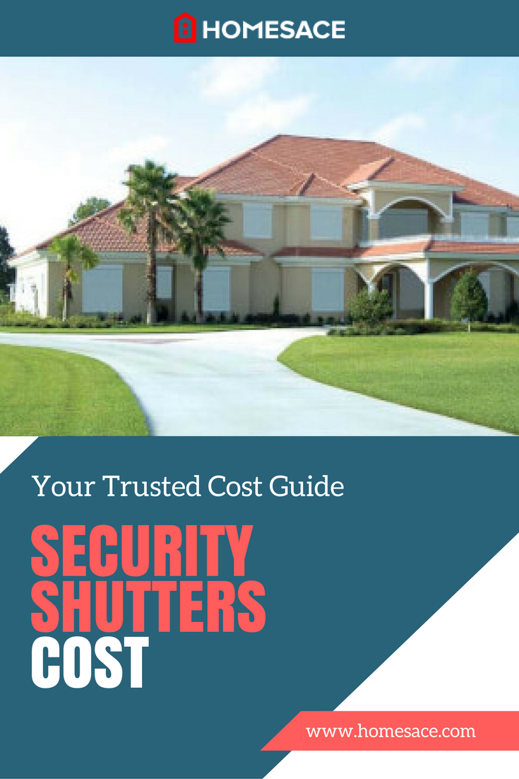 Security Shutters Cost