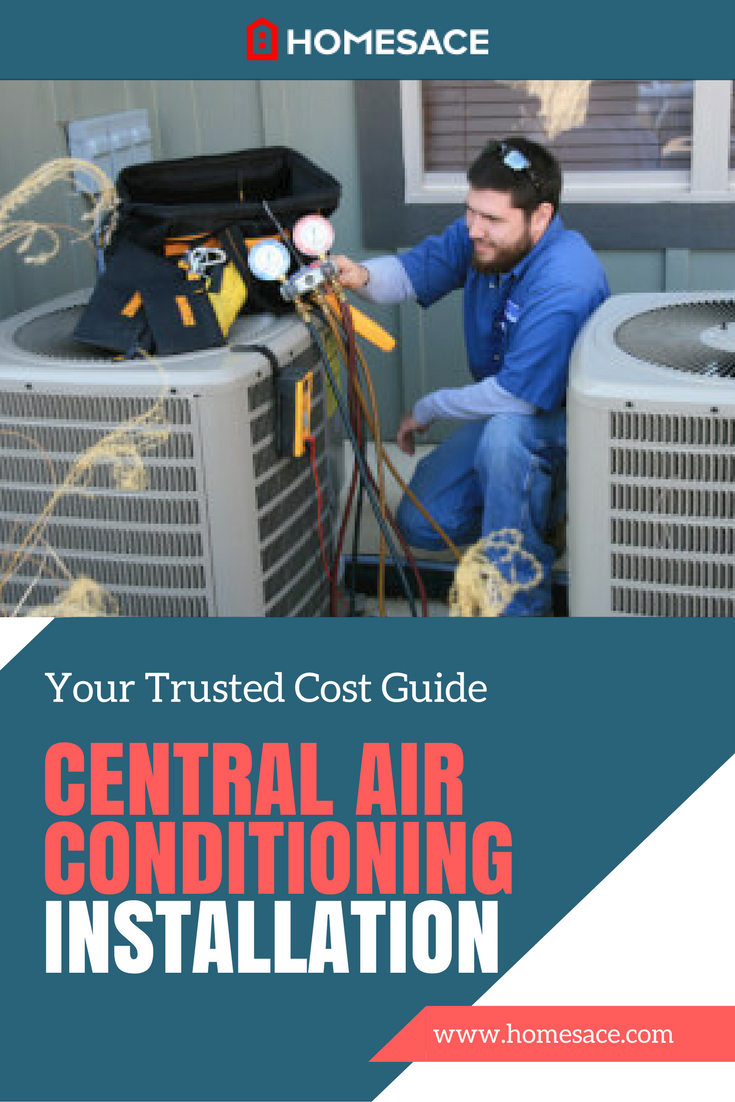 Cost To Install Central Air Conditioning Estimates Prices Denver Services Replacing A Thermostat Meanings Of You Might Also Be Interested In Boiler Repair