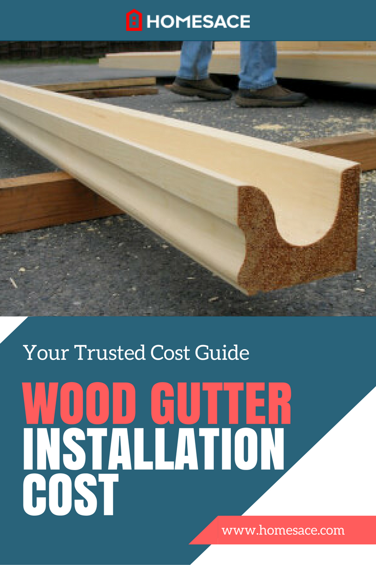 Cost To Install Wood Gutters Estimates Prices