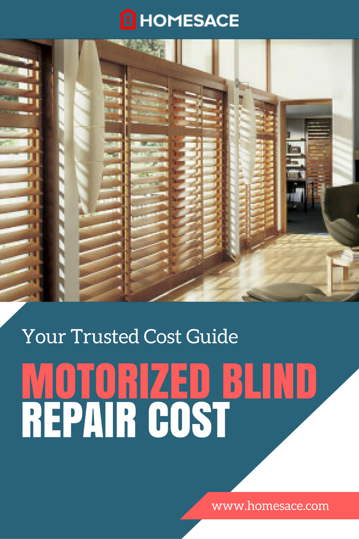 Motorized Blind Repair Cost