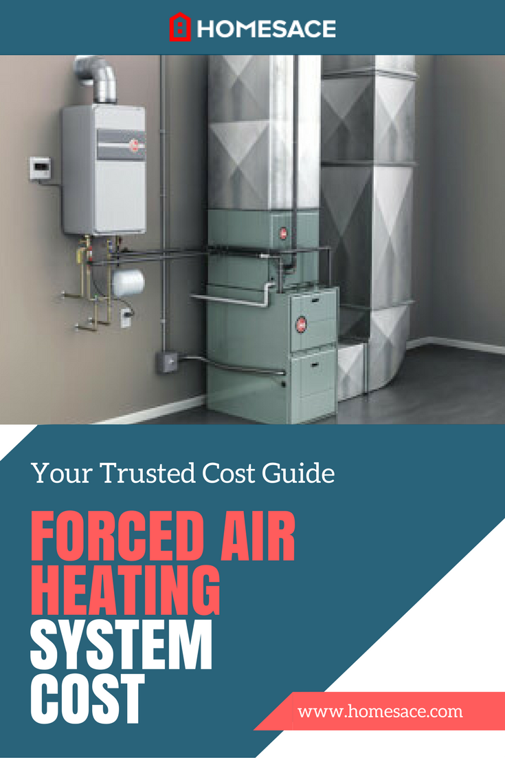 Cost To Install A Forced Air Heating System Estimates