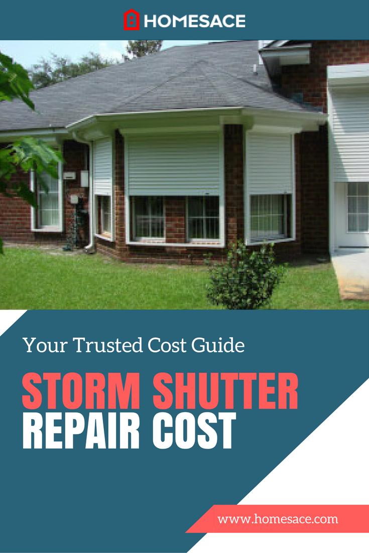 Storm Shutter Repair Cost