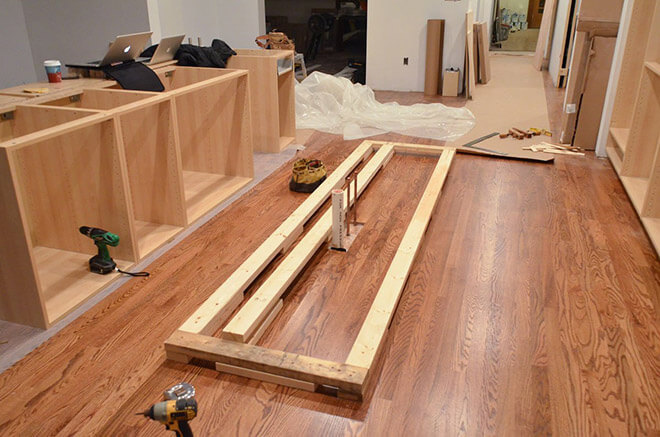 Pre-Made Cabinet Installation Cost