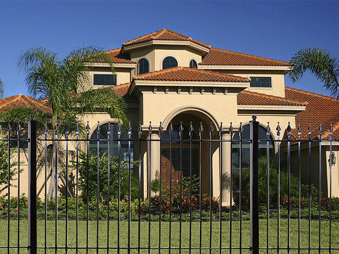 Cost To Install A Wrought Iron Fence Estimates Prices