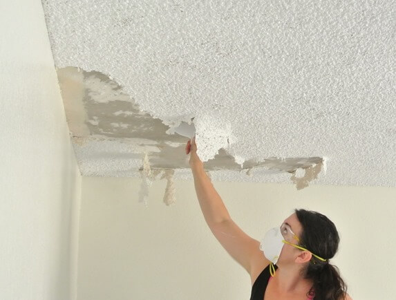 Cost To Remove a Popcorn Ceiling Estimates Prices & Contractors