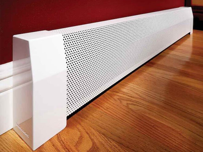 Electric Baseboard Heater Installation