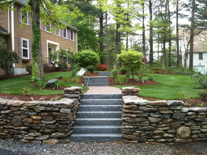Stone Wall Installation Cost