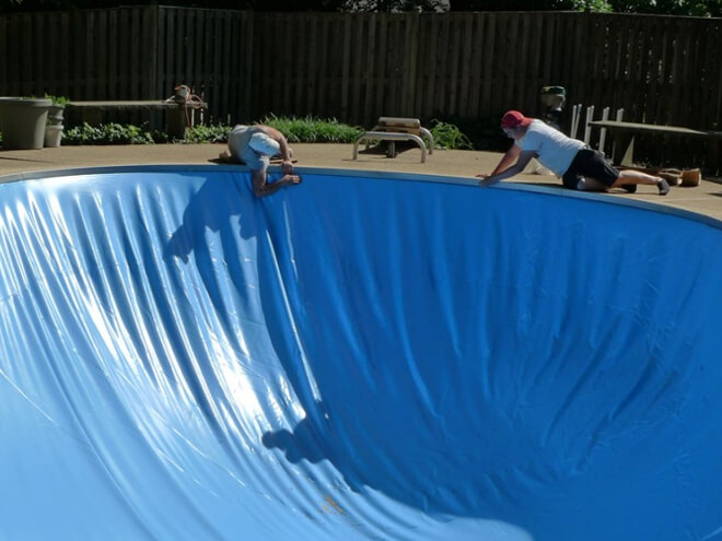 Cost To Install a Pool Liner - Estimates, Prices ...