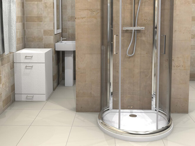 Cost To Install A Shower Enclosure Estimates Prices Contractors - Cost of installing shower enclosure