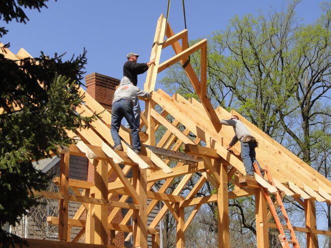 Install Timber Framing Cost