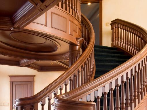 Wood Stair Railing Repair
