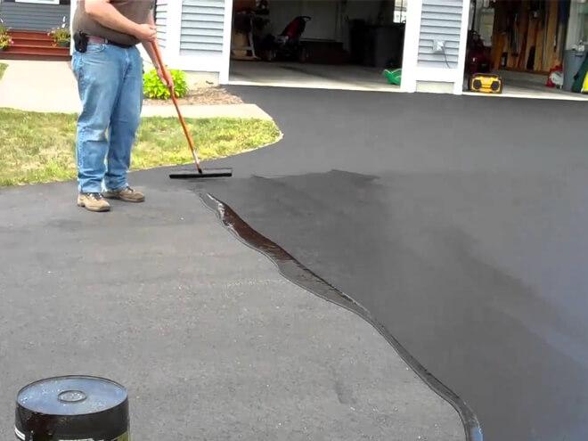 Asphalt Driveway Sealing