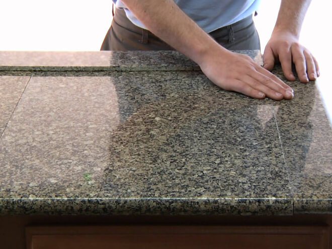 Stone Countertop Installation