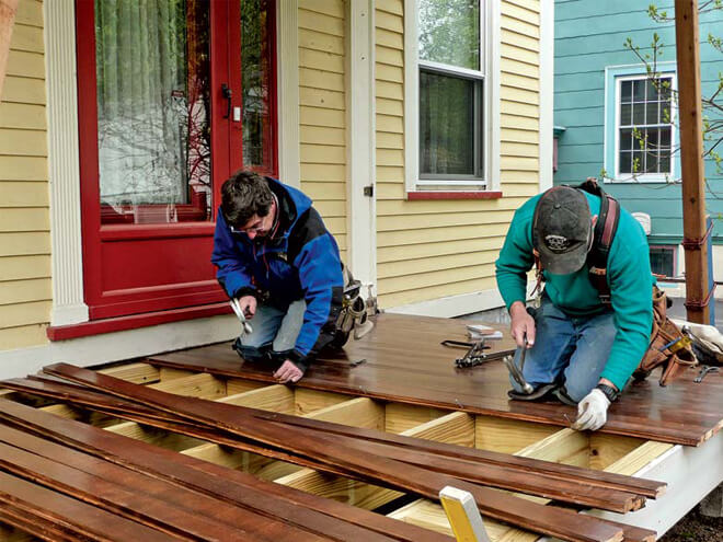 Cost To Repair Decking Estimates Prices Amp Contractors