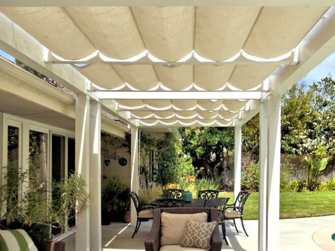 Superbe Fabric Patio Cover Repair Cost