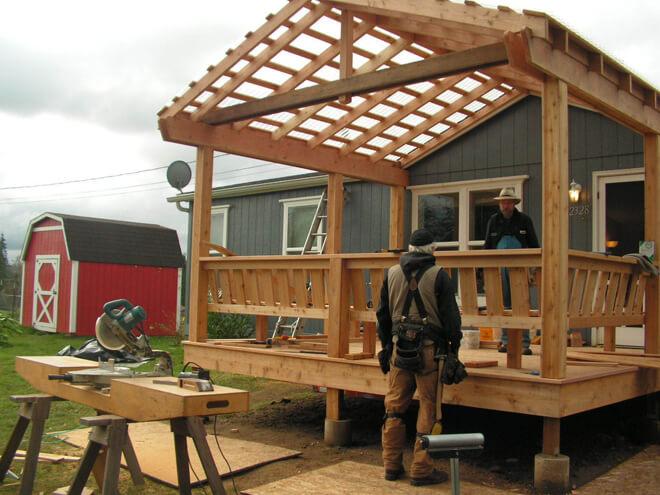 Porch Building Cost