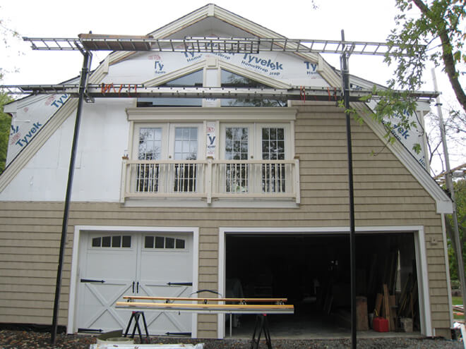 Fiber Cement Siding Installation