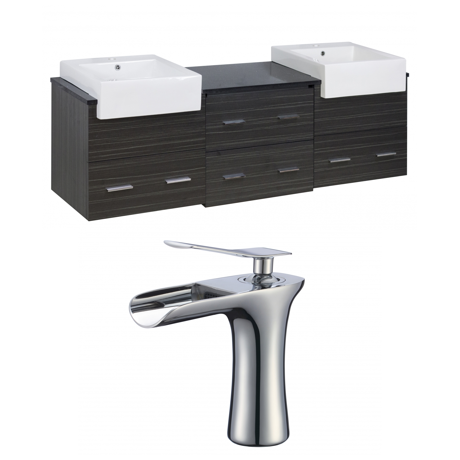 Faucet, Drain, Ceramic Top, Kitchen Sink, Laundry Sink, Magnifying ...