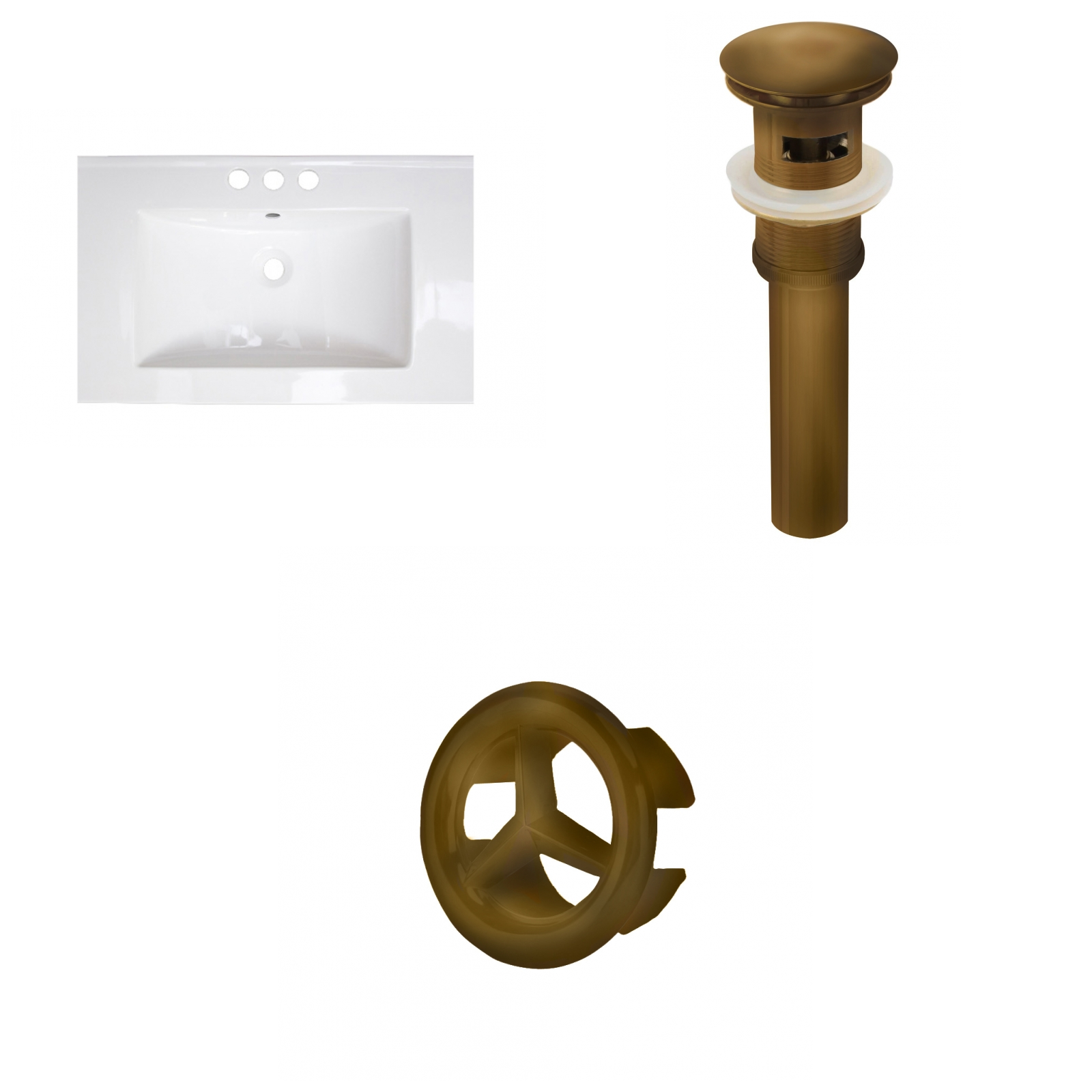 by bath decor products trio brass madam wall solid sir hanger burke sm design accessories bathroom