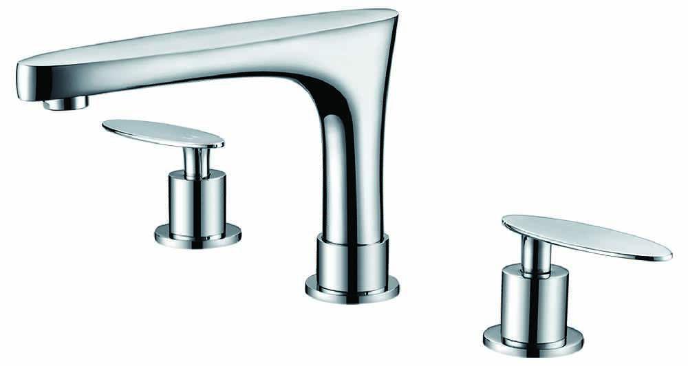 3H8 In CUPC Approved Brass Faucet Chrome Color RPBK 1783 C Royal Purple Bath