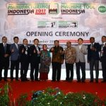 Manufacturing Indonesia 2017 Series of Exhibition, Resmi Dibuka
