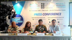 Indonesia's Biggest Business Expo 2018 Hadirkan 450 Brand dari 22 Negara untuk Tawarkan Usaha Waralaba dan Kebutuhan Kafe