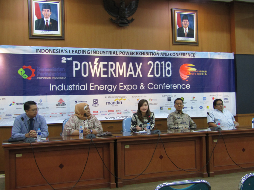 Industrial Energy Exhibition and Conference, Powermax 2018