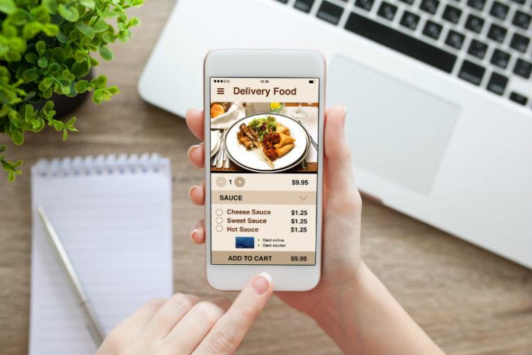 bisnis makanan online dengan aplikasi antar