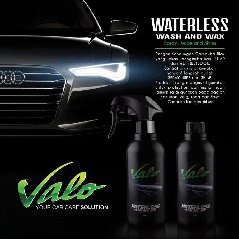 cairan cuci mobil tanpa air