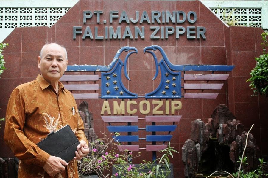 Muliamin pendiri PT Fajarindo Faliman Zipper