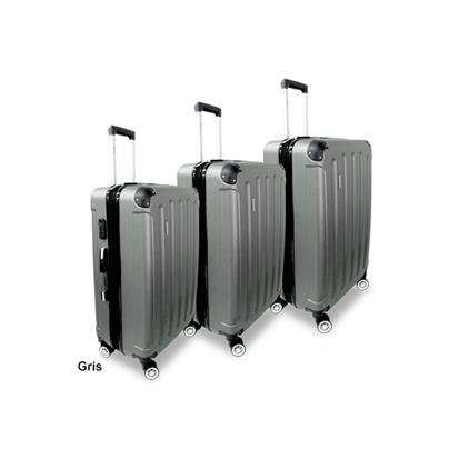 800417906 ¡Las valijas que estabas buscando! Set de 3 Valijas rígidas con ruedas 360,  super resistentes a golpes. Envíos a todo el país.