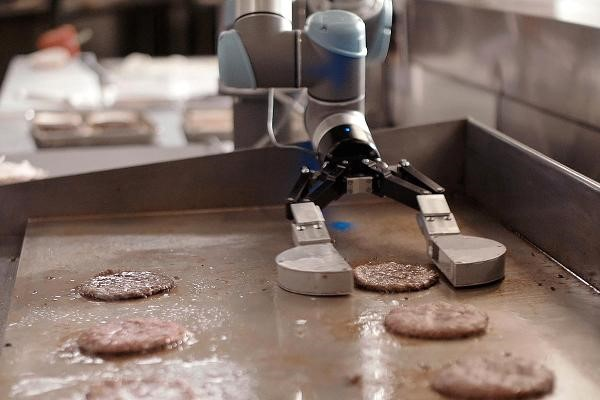 Fast Food Work Automation With Robot Development